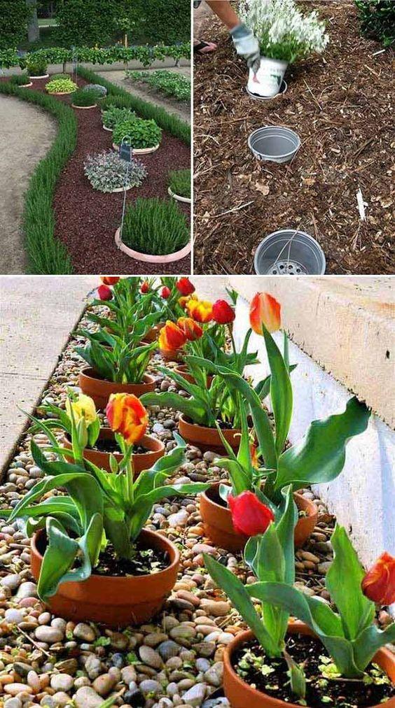 35+ Easy DIY Flower Garden Ideas