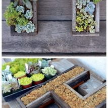 DIY Flower Garden Ideas 15 214x214 - 35+ Easy DIY Flower Garden Ideas