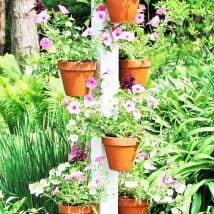 DIY Flower Garden Ideas 16 214x214 - 35+ Easy DIY Flower Garden Ideas