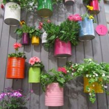 DIY Flower Garden Ideas 28 214x214 - 35+ Easy DIY Flower Garden Ideas