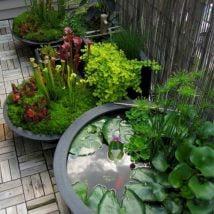 DIY Flower Garden Ideas 32 214x214 - 35+ Easy DIY Flower Garden Ideas