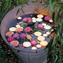 DIY Flower Garden Ideas 34 214x214 - 35+ Easy DIY Flower Garden Ideas