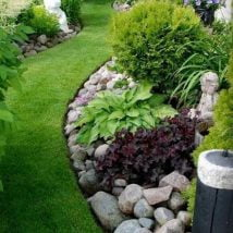DIY Flower Garden Ideas 8 214x214 - 35+ Easy DIY Flower Garden Ideas