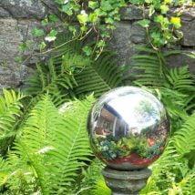 DIY Garden Globes 10 214x214 - 30+ Super Interesting DIY Garden Globes Ideas