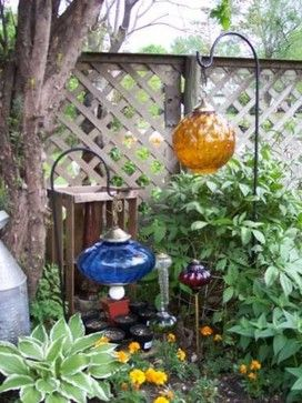 30+ Super Interesting DIY Garden Globes Ideas