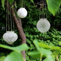 DIY Garden Globes 17 214x214 - 30+ Super Interesting DIY Garden Globes Ideas