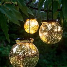 DIY Garden Globes 19 214x214 - 30+ Super Interesting DIY Garden Globes Ideas