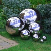 DIY Garden Globes 23 214x214 - 30+ Super Interesting DIY Garden Globes Ideas