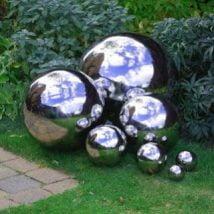DIY Garden Globes 23 214x214 - 30+ Super Interesting DIY Garden Globes Ideas