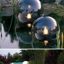 DIY Garden Globes 24 214x214 - 30+ Super Interesting DIY Garden Globes Ideas