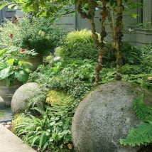 DIY Garden Globes 25 214x214 - 30+ Super Interesting DIY Garden Globes Ideas