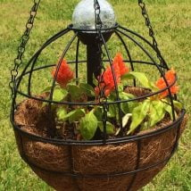 DIY Garden Globes 26 214x214 - 30+ Super Interesting DIY Garden Globes Ideas