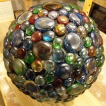 DIY Garden Globes 3 214x214 - 30+ Super Interesting DIY Garden Globes Ideas