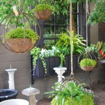 DIY Garden Globes 4 214x214 - 30+ Super Interesting DIY Garden Globes Ideas