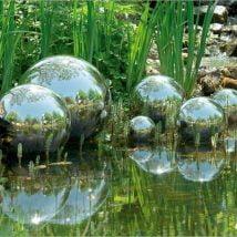 DIY Garden Globes 8 214x214 - 30+ Super Interesting DIY Garden Globes Ideas