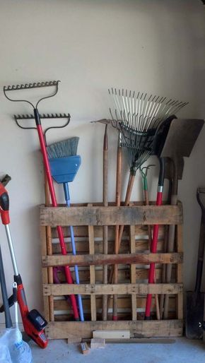 15+ DIY Ways To Organize Your Backyard