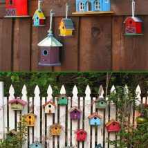 Diy Bird Houses 1 214x214 - 25+ DIY Decorative Bird House