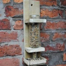 Diy Bird Houses 10 214x214 - 25+ DIY Decorative Bird House