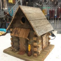 Diy Bird Houses 11 214x214 - 25+ DIY Decorative Bird House