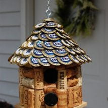 Diy Bird Houses 12 214x214 - 25+ DIY Decorative Bird House