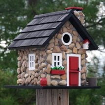 Diy Bird Houses 13 214x214 - 25+ DIY Decorative Bird House