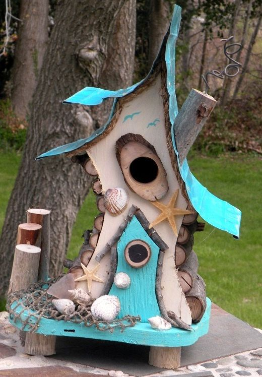 25+ DIY Decorative Bird House