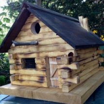 Diy Bird Houses 17 214x214 - 25+ DIY Decorative Bird House
