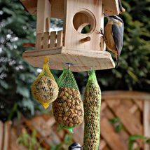 Diy Bird Houses 25 214x214 - 25+ DIY Decorative Bird House