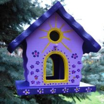 Diy Bird Houses 26 214x214 - 25+ DIY Decorative Bird House