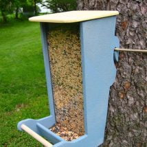 Diy Bird Houses 27 214x214 - 25+ DIY Decorative Bird House