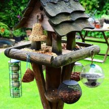Diy Bird Houses 28 214x214 - 25+ DIY Decorative Bird House