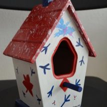 Diy Bird Houses 29 214x214 - 25+ DIY Decorative Bird House