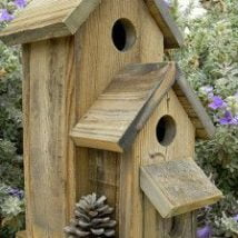 Diy Bird Houses 32 214x214 - 25+ DIY Decorative Bird House