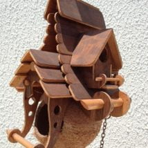 Diy Bird Houses 34 214x214 - 25+ DIY Decorative Bird House