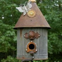 Diy Bird Houses 35 214x214 - 25+ DIY Decorative Bird House