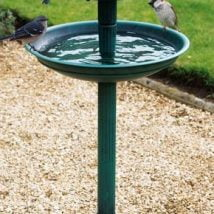 Diy Birdbath Projects 24 214x214 - 30+ Cute DIY Bird Bath Ideas To Enhance Your Garden