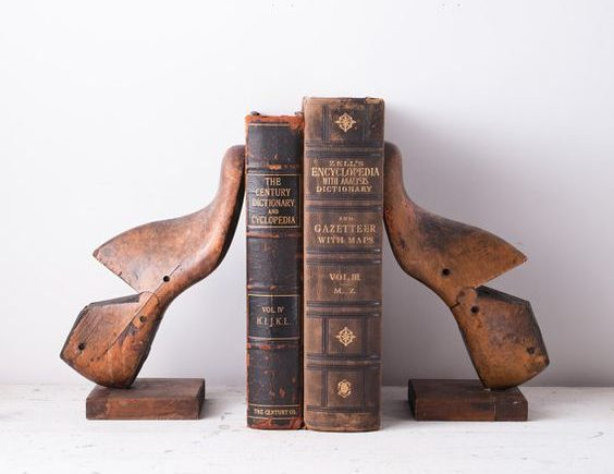 30+ Decorative DIY Bookends To Spruce Up Your Shelves