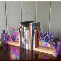 Diy Bookend Ideas 4 214x214 - 30+ Decorative DIY Bookends To Spruce Up Your Shelves