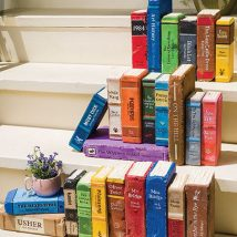 Diy Bookend Ideas 5 214x214 - 30+ Decorative DIY Bookends To Spruce Up Your Shelves