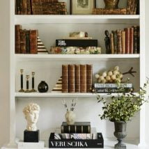 Diy Bookend Ideas 7 214x214 - 30+ Decorative DIY Bookends To Spruce Up Your Shelves