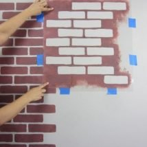 Diy Brick Walls Ideas 12 214x214 - 30+ Diy Brick Walls Ideas