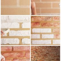 Diy Brick Walls Ideas 8 214x214 - 30+ Diy Brick Walls Ideas