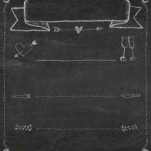 Diy Chalkboards 13 214x214 - 25+ Easy DIY Chalkboard Projects Your Family Will Be Thankful For