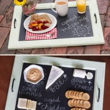 Diy Chalkboards 23 214x214 - 25+ Easy DIY Chalkboard Projects Your Family Will Be Thankful For