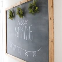 Diy Chalkboards 7 214x214 - 25+ Easy DIY Chalkboard Projects Your Family Will Be Thankful For