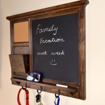 Diy Chalkboards 9 214x214 - 25+ Easy DIY Chalkboard Projects Your Family Will Be Thankful For