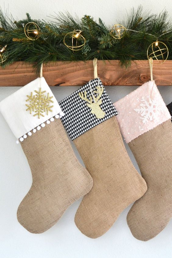 33 Diy Christmas Stockings Ideas For Everyone In The Family