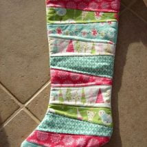 Diy Christmas Stockings 26 214x214 - 33+ DIY Christmas Stockings Ideas For Everyone In The Family