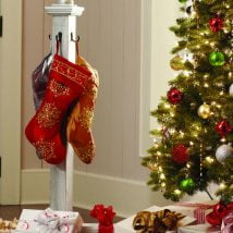 Diy Christmas Stockings 33 214x214 - 33+ DIY Christmas Stockings Ideas For Everyone In The Family