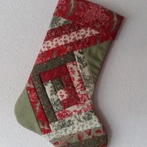 Diy Christmas Stockings 35 214x214 - 33+ DIY Christmas Stockings Ideas For Everyone In The Family